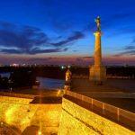 Kalemegdanska tvrđava i Pobednik simbol Beograda