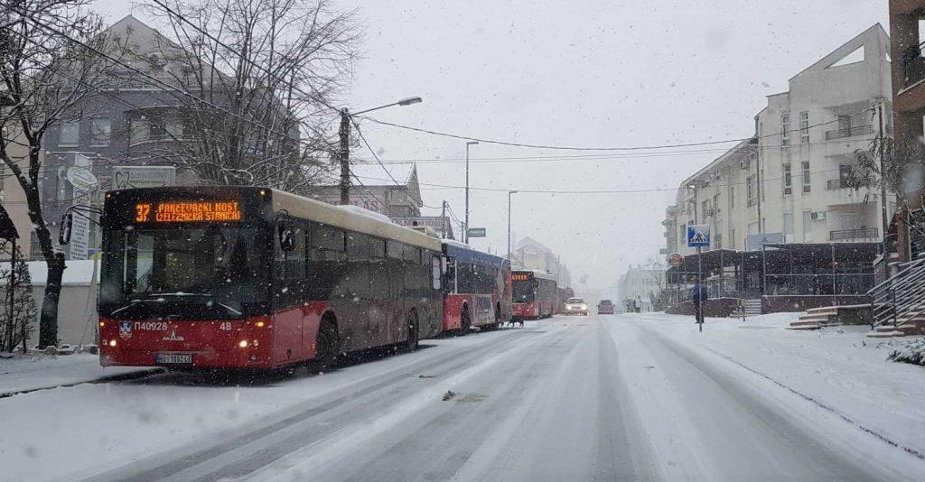 Kolaps u Beogradu