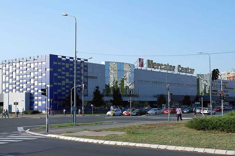 tržni centar Merkator